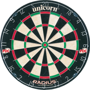 Darts-taulu Unicorn Radius