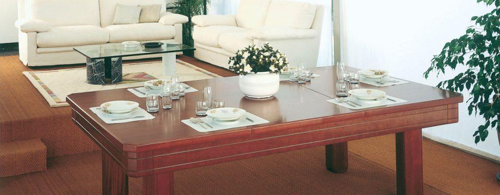 Biljadipöytä pöytälevyillä? Hanki pöytä joka toimii toimiston kokouspöytänä tai vaikka ruokapöytänä