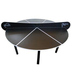 Pyöreä Pingispöytä - Musta Sardi Orbit